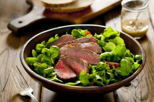 steak salad recipe for Dallas BBQ